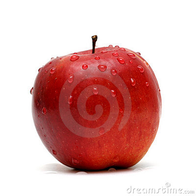 Free Red Apple Royalty Free Stock Photography - 231097