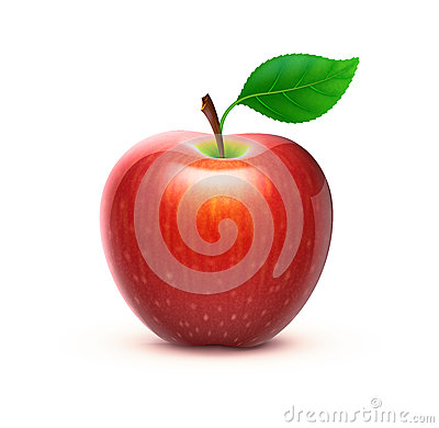 Free Red Apple Royalty Free Stock Images - 24661589