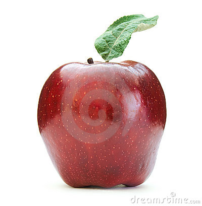 Free Red Apple Royalty Free Stock Photography - 6935747