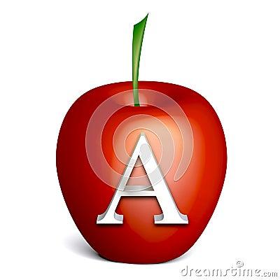 Handwriting animation apple
