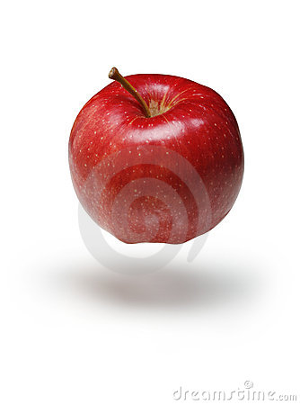 Red Apple Floating