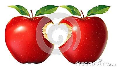 Resultado de imagem para imagem A parábola da maçã mordida