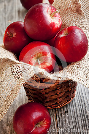 Red Apples Basket