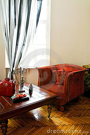Free Red Armchair Royalty Free Stock Image - 10347536