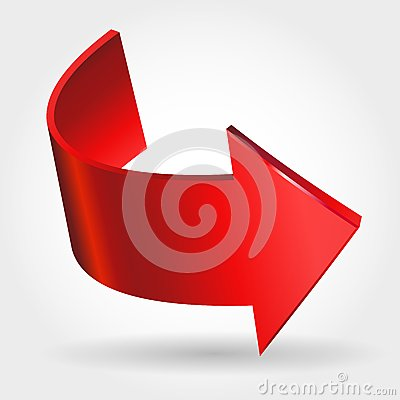 Free Red Arrow Royalty Free Stock Photo - 35333225