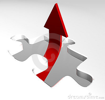 Free Red Arrow Showing Business Growth Royalty Free Stock Photo - 8526675