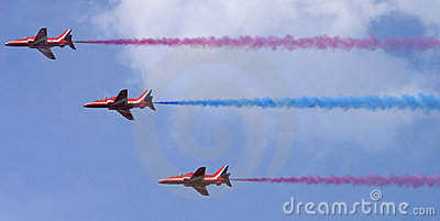 The Red Arrows Editorial Image