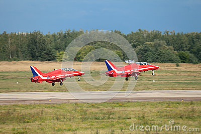 Red Arrows Editorial Image