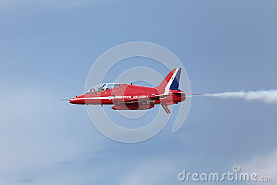 Red Arrows Editorial Photo