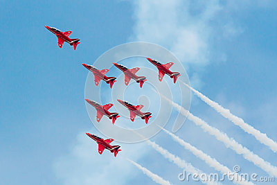 Red Arrows Editorial Photography