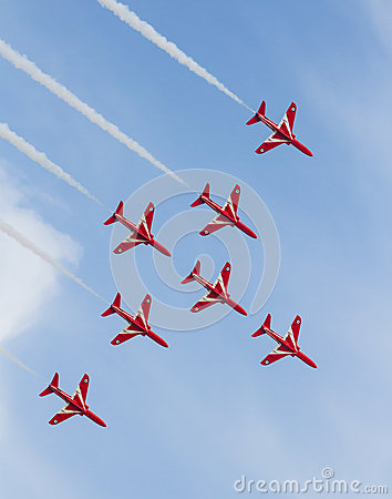 Red Arrows Editorial Image