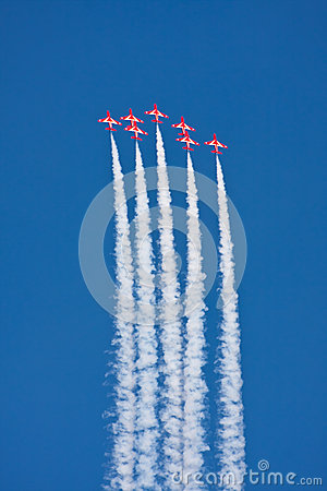 Red Arrows Aerobatics
