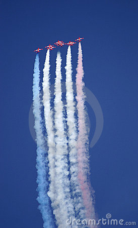 Red Arrows display team 02
