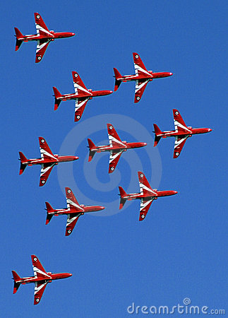 Red Arrows display team 03