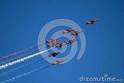 Red Arrows display team 04