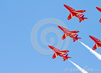 Red Arrows Display Team Editorial Image
