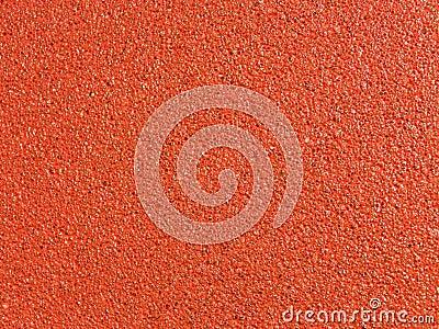 Red asphalt texture