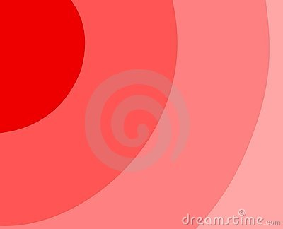 Red background with spiral