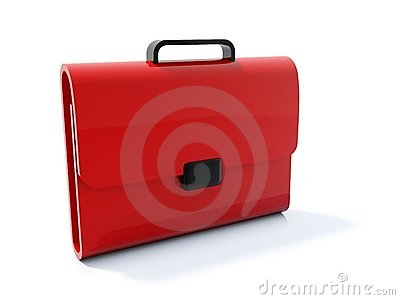 Red bag icon