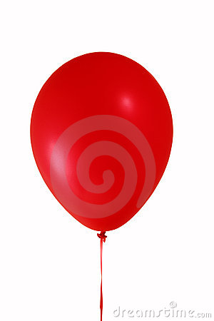 Free Red Balloon Royalty Free Stock Images - 1369919