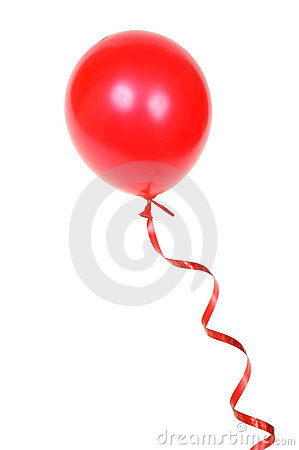 Free Red Balloon Royalty Free Stock Photography - 3957067