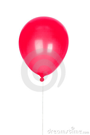 Red Balloon inflated