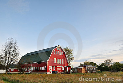 Red Barn in Arlington