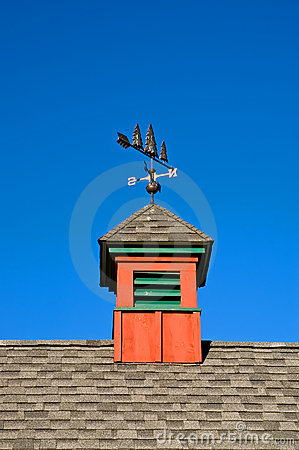 Free Red Barn Cupola Stock Photo - 2986580