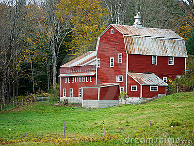 Red Barn, Vermont