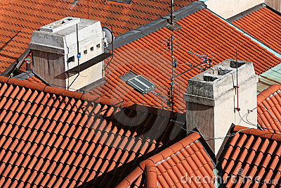 Red Barrel Tile Roofs