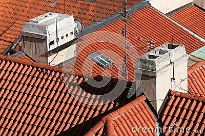 Red Barrel Tile Roofs