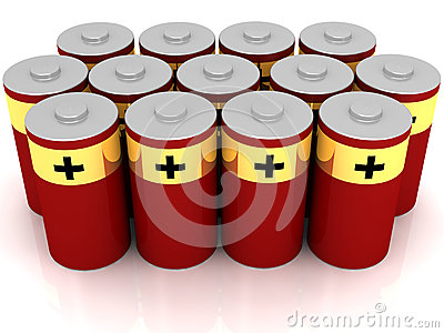 Red Batteries