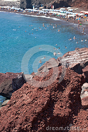 Red beach - Santorini Island - Greece