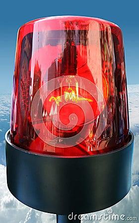 Free Red Beacon Light Stock Photo - 2375610