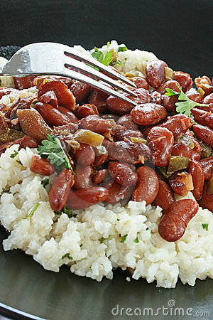 Free Red Beans And Rice Stock Photography - 20197042