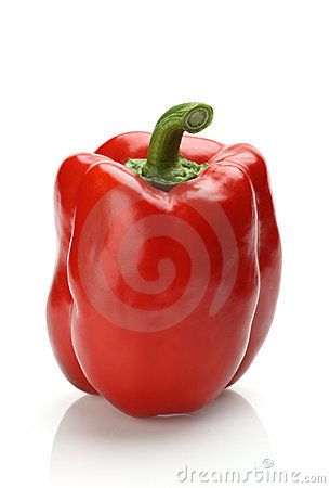 Free Red Bell Pepper Royalty Free Stock Photo - 4435165