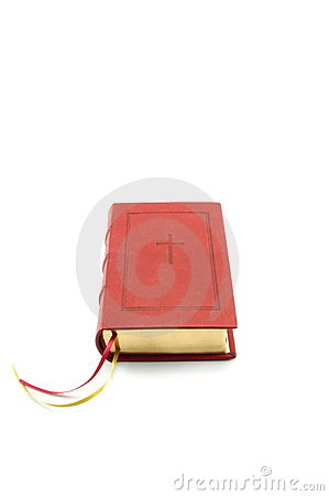 Red bible book
