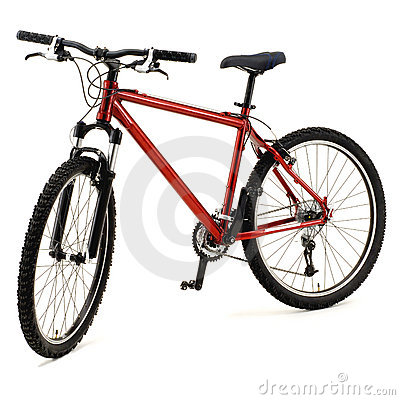 Free Red Bicycle Stock Images - 20324844