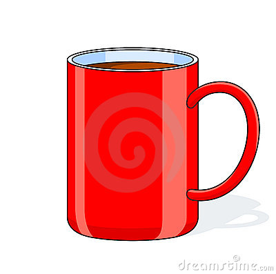 Red big cup