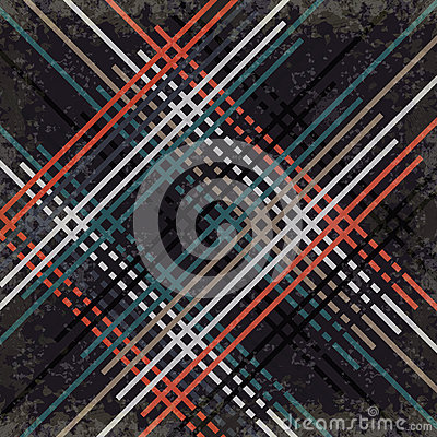 Free Red Black Blue And Gray Lines On A Dark Background Vector Illustration Grunge Effect Royalty Free Stock Photos - 59661428