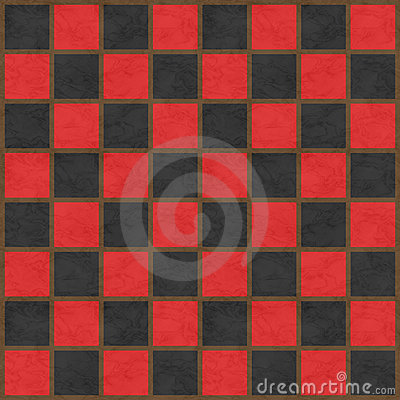 Red & Black Checkerboard