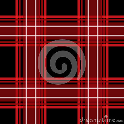 Red and black checkered seamless pattern repeat