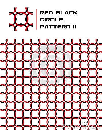 Free Red & Black Circle Pattern Stock Photo - 15703290