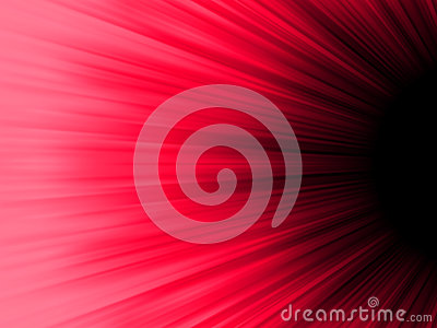 Red and black luminous rays. EPS 8