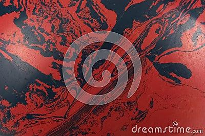 Red and Black Swirls
