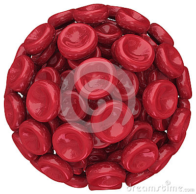 Red Blood Cell Ball Sphere Medical Health Care Research