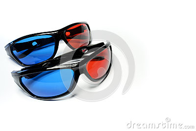Red-blue glasses