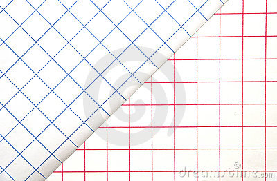 Red and Blue Grids/Background