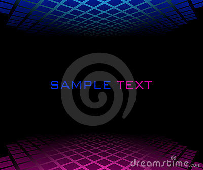 Red blue halftone background