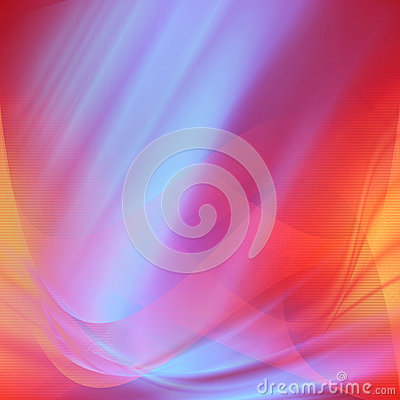 Red and blue satin abstract background lines texture, valentne background with lighting effectts